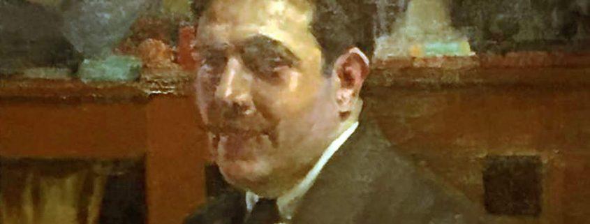 Fernando Viscaí Albert. Retrat per Joaquín Sorolla