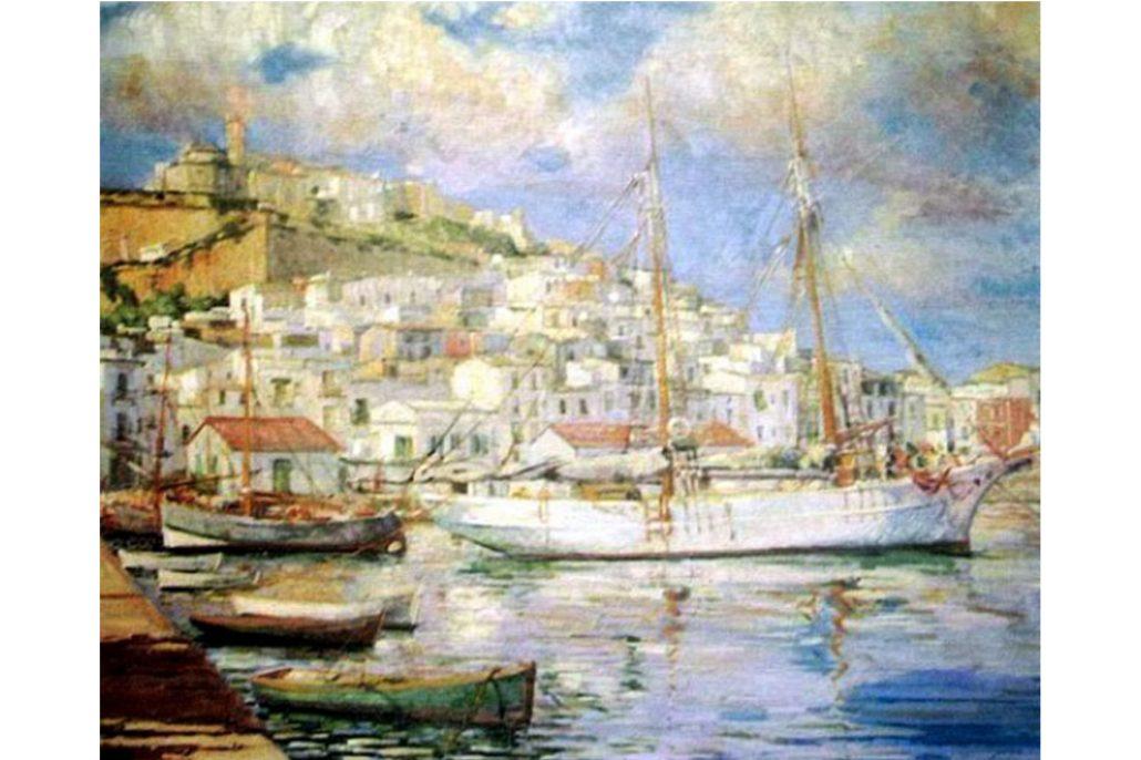 Josep Tarrés i Palau. Oli sobre tela. Eivissa, 1933. Col·lecció de Sa Nostra
