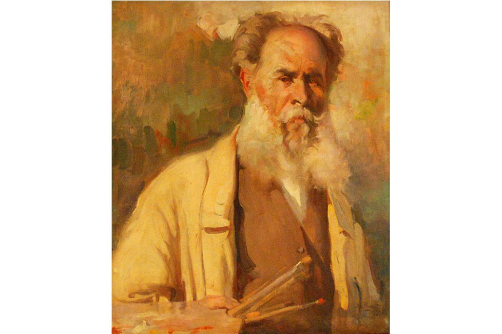 Narcís Puget (Autoretrat. Museu Puget. Eivissa)