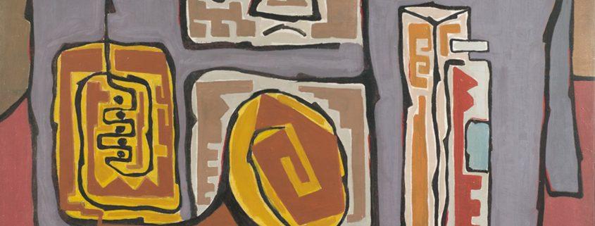 Sánchez Martínez, Enrique. COLECCIÓN DE ARTE DEL BANCO DE LA REPÚBLICA Museo de Arte del Banco de la República Calle 11 # 4-21 Bogotá, Colombia. 1958. 61,5 x 89 cm. Óleo sobre tela. Pintura