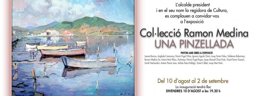 Anunci exposició de la col·lecció Ramon Medina