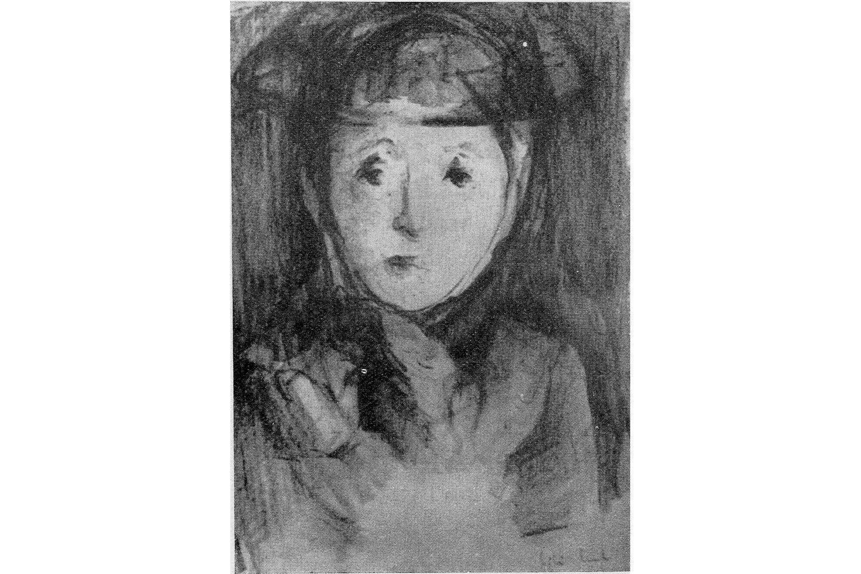 """Retrat. Lili Lund. Catàleg """"Saló de Otoño, 1964"""" Palma"""