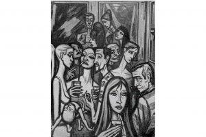 Vernissage. Francisco Carreño Prieto. Salón de Otoño, 1964. Palma