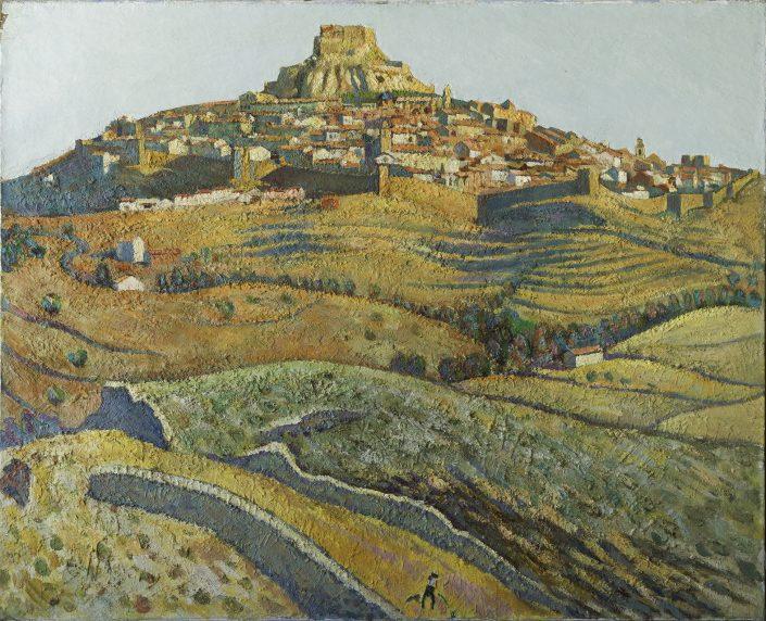 Vista de Morella. Col·lecció de l'Ajuntament de Morella