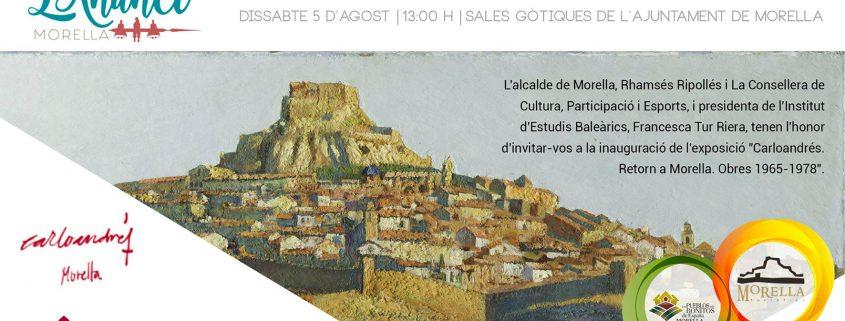 Invitació a l'exposició de Carloandrés