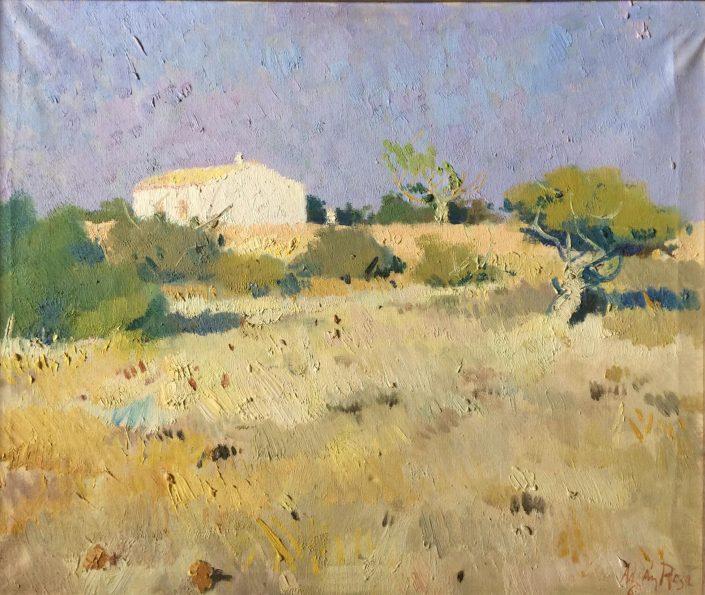 Paisatge d'Eivissa. Adrian Rosa. 1969