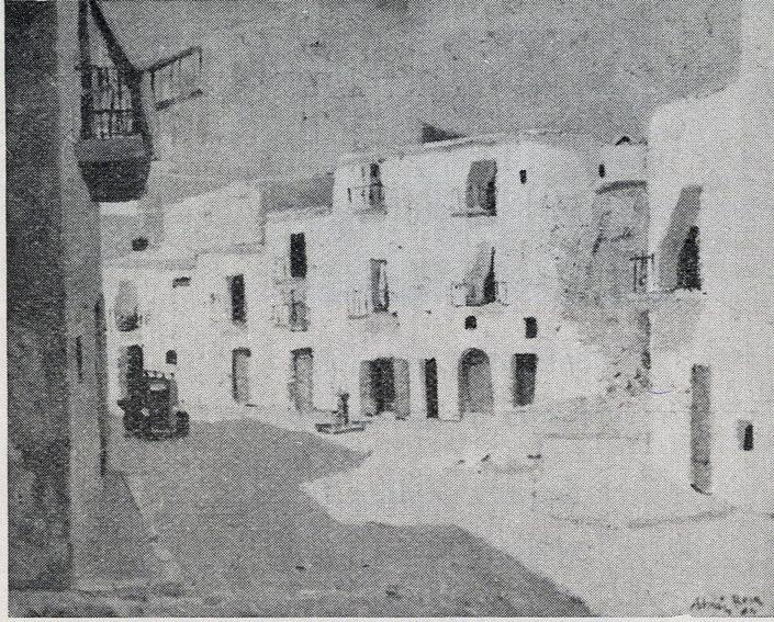 Carrer d'Eivissa. Adrian Rosa. Saló de Tardor 1964. Palma